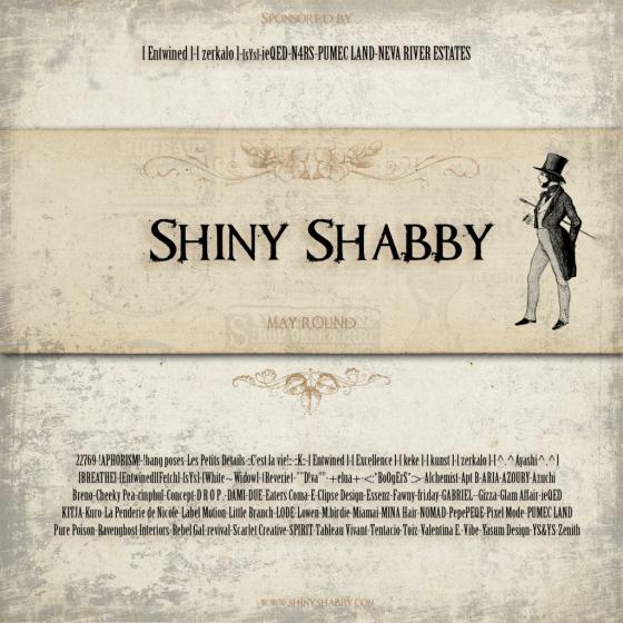 Shiny Shabby May Poster