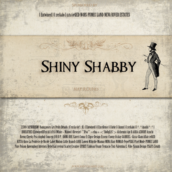 Shiny Shabby May Poster